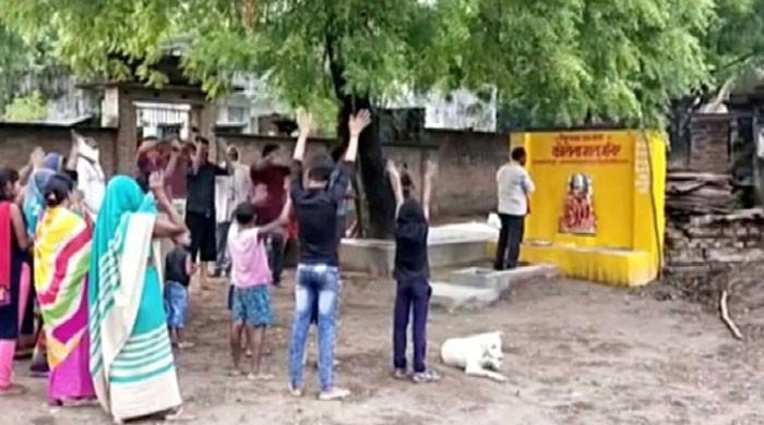 بھارت: گاؤں کے رہائشیوں نے وائرس سے نجات کیلئے 'کورونا مندر ' بنالیا
