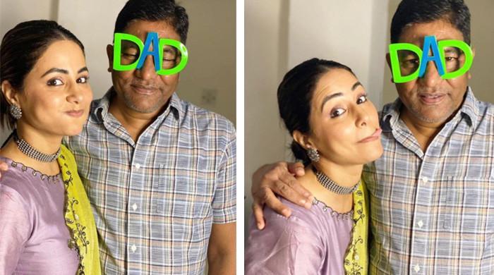 حنا خان کا والد کے عالمی دِن پر جذباتی پیغام