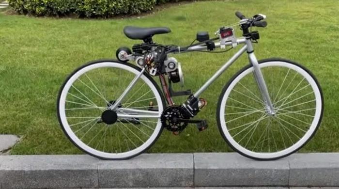 چینی انجینئر نے 'سیلف بیلنسنگ' سائیکل تیار کر لی