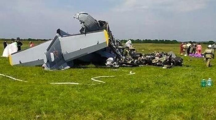 سائبیریا میں چھوٹا طیارہ گر کر تباہ ہونے سے 4 افراد ہلاک ہوگئے