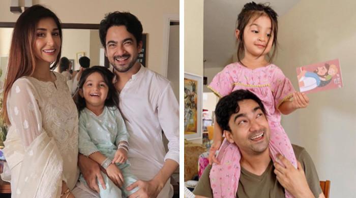 فادرز ڈے پر علی سفینہ کی بیٹی نے انہیں کیا سرپرائز دیا؟