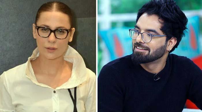 'نوشین شاہ کمال کی اداکارہ ہیں'