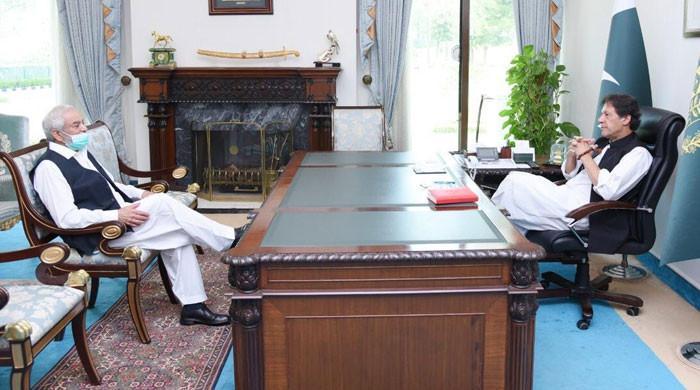 وزیراعظم سے احسان مانی کی ملاقات، ڈومیسٹک اور انٹرنیشنل کرکٹ کے امور پر گفتگو