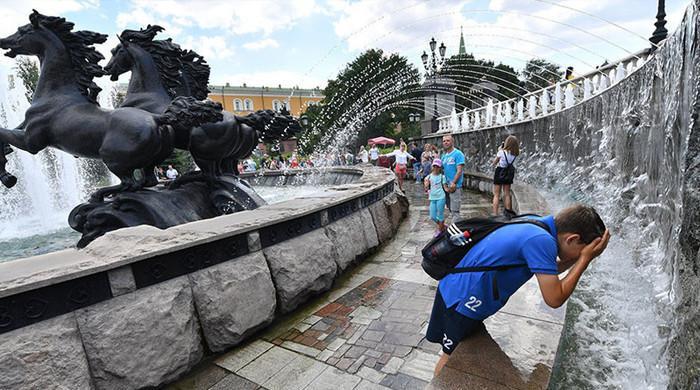 ماسکو میں گرمی کا 120 سالہ ریکارڈ ٹوٹ گیا