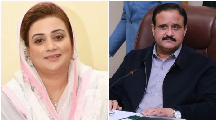 وزیراعلٰی پنجاب کا عظمیٰ بخاری کو 25 کروڑ روپے ہرجانےکا نوٹس