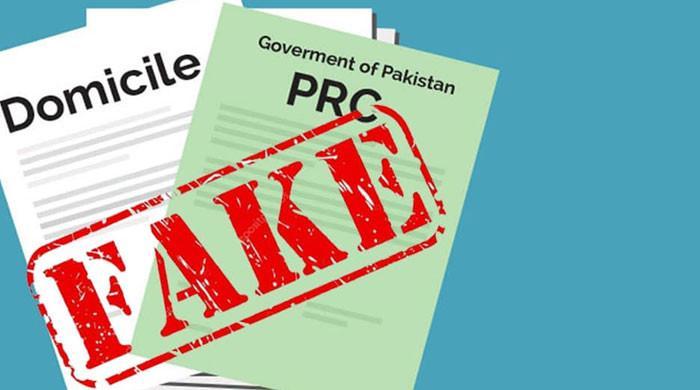 سندھ کا 10 سال کے دوران جاری کیے گئے ڈومیسائل اور  پی آر سی کی تحقیقات کا فیصلہ