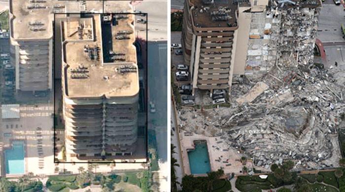 امریکا میں عمارت کا ایک حصہ منہدم، ایک شخص ہلاک اور 51 لاپتہ ہوگئے