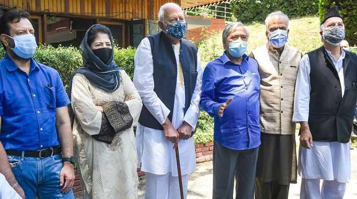 بھارت کی من پسندکشمیری قیادت نے بھی آرٹیکل 370 کی بحالی کا مطالبہ کردیا