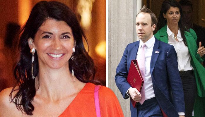 میٹ ہینکاک اور گینا کولاڈاینجلو کی ویڈیو اور تصاویر برطانوی خبر رساں ادارے نے شائع کی تھی جس کے بعد سے وزیر صحت تنقید کی زر میں ہیں— فوٹو: فائل
