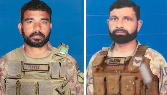 Two Soldier Martyred