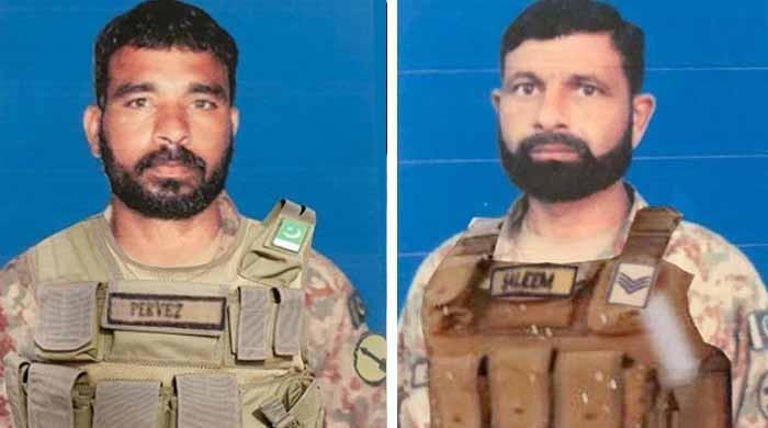 افغانستان سے دہشت گردوں کی انٹرنیشنل بارڈر پر فائرنگ، 2 جوان شہید