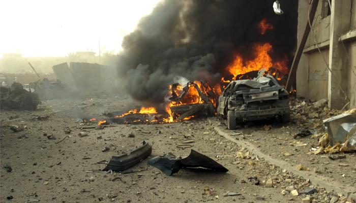 غیر ملکی خبر رساں ایجنسی کے مطابق عراق کے دارالحکومت بغداد میں دھماکے سے 10 افراد ہلاک جبکہ 20 افراد زخمی ہوگئے ہیں —فوٹو:فائل