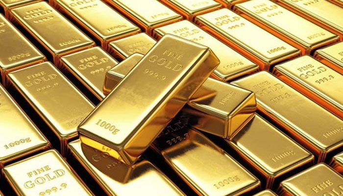 10 گرام سونے کی قیمت 600 روپے اضافے سے 94822 روپے ہے— فوٹو:فائل