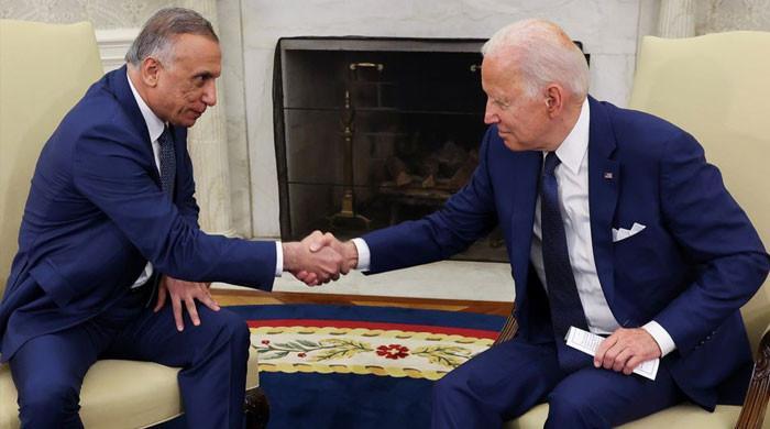 جوبائیڈن نے عراق میں جنگی آپریشن ختم کرنے کا اعلان کردیا