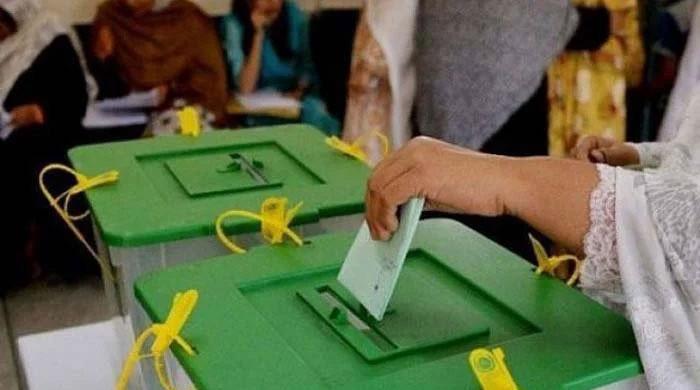 پی پی 38 سیالکوٹ میں ضمنی الیکشن کیلئے ووٹنگ کا عمل جاری
