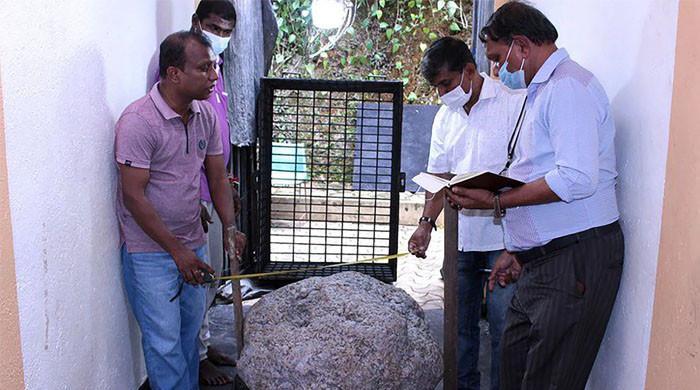 سری لنکا میں 510 کلوگرام نیلم کا پتھر دریافت
