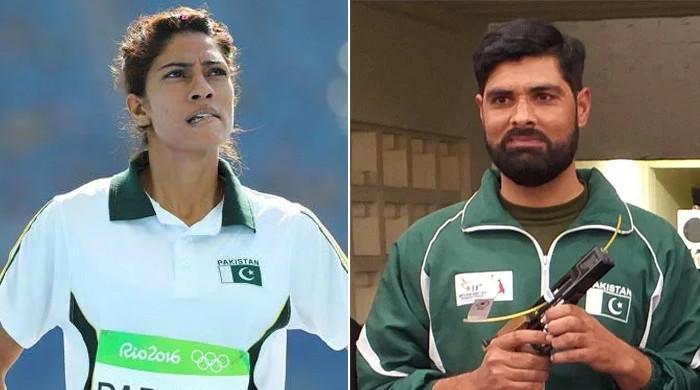 پاکستانی شوٹر جی ایم بشیر اور اسپرنٹر نجمہ پروین بھی اولمپکس سے آؤٹ