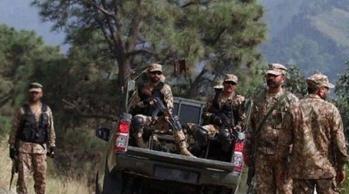 شمالی وزیرستان میں چیک پوسٹ پر دہشتگردوں کاحملہ، پاک فوج کا جوان شہید