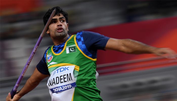 24 سالہ ارشد اولمپکس مقابلوں میں ٹریک اینڈ فیلڈ کے ایونٹ کیلئے براہ راست کوالیفائی کرنیوالے پہلے پاکستانی ایتھلیٹ ہیں —فوٹو:فائل