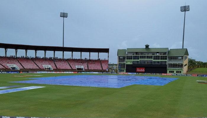 بارش کے باعث 3 اوورز کا کھیل ممکن ہوسکا، پاکستان نے ٹی ٹوئنٹی سیریز 0-1 سے اپنے نام کرلی— فوٹو: پی سی بی