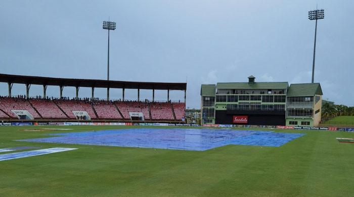 چوتھا ٹی ٹوئنٹی بھی بارش کی نذر، پاکستان نے ویسٹ انڈیز کیخلاف سیریز جیت لی