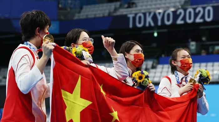 ٹوکیو اولمپکس کے 11ویں روز بھی چینی ایتھلیٹ چھائے رہے
