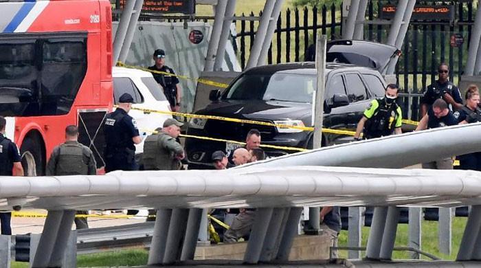 امریکی محکمہ دفاع کی عمارت کے قریب فائرنگ، ایک پولیس افسر ہلاک