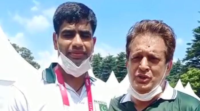 ٹوکیو اولمپکس: میڈل حاصل کر کے پاکستانی پرچم سر بلند کروں گا: ارشد ندیم