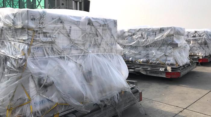 کوویکس کے تحت امریکا سے فائزر ویکسین کی37 لاکھ خوراکیں پاکستان پہنچ گئیں