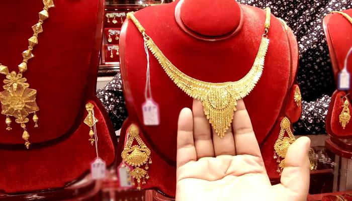 10 گرام سونےکی قدر 342 روپے اضافے سے 96 ہزار 622 روپے ہوگئی ہے،فوٹو: فائل