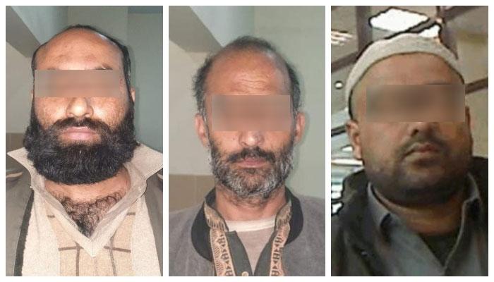 ڈی ایس پی زاہد حسین کا کہنا ہے کہ اس گروہ کا سرغنہ محمد بلال حضرت آباد پشاور کا رہائشی ہے۔ —فوٹو: جیو نیوز