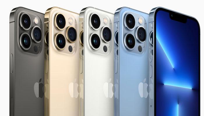 ایپل کمپنی نے منگل کے روز شاندار اسکرین والے آئی فون 13 سیریز کو متعارف کرایا —فوٹو: ٹوئٹر
