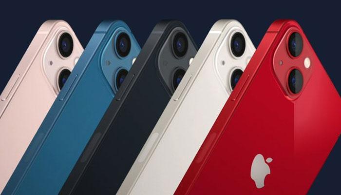 امریکا کی معروف ٹیکنالوجی کمپنی ایپل نےآئی فون 13 سیریز کے 4 فونز کو متعارف کروا دیا ہے۔ —فوٹو: ٹوئٹر