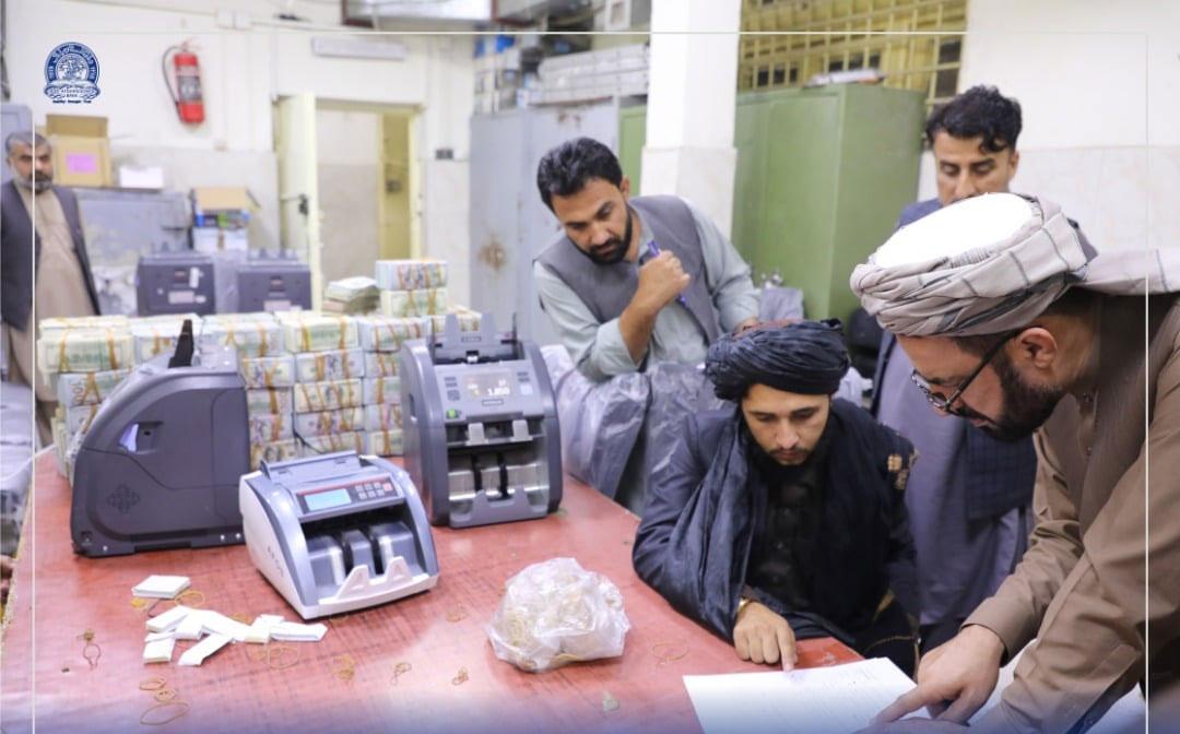 گزشتہ دنوں طالبان نے سابق نائب صدر امراللہ صالح کے گھر سے 65 لاکھ امریکی ڈالرز اور سونا برآمد کرنے کا دعویٰ کیا تھا— فوٹو: افغانستان مرکزی بینک