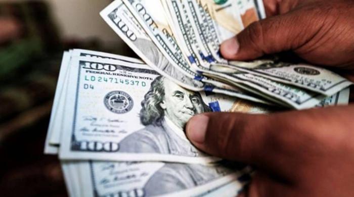 اونچی اڑان کے بعد ڈالرکی قدر نیچے آگئی