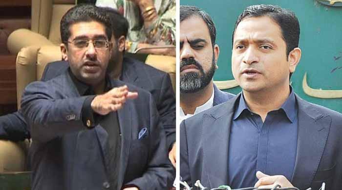 اسمبلی میں خرم شیر زمان اور تیمور تالپور الجھ پڑے، سخت جملوں کا تبادلہ