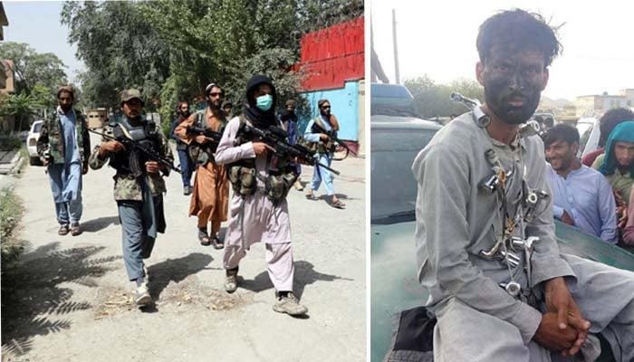 تاہم یہ سزا کس کی جانب سے دی گئی یا اس شخص کی چوری سے متعلق مزید تفصیلات سامنے نہیں آسکی ہیں— فوٹو: افغان اردو