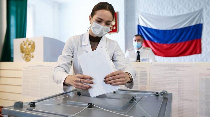 روسی الیکشن کمیشن کا ملک میں جاری انتخابات میں غیر ملکی مداخلت کا دعویٰ