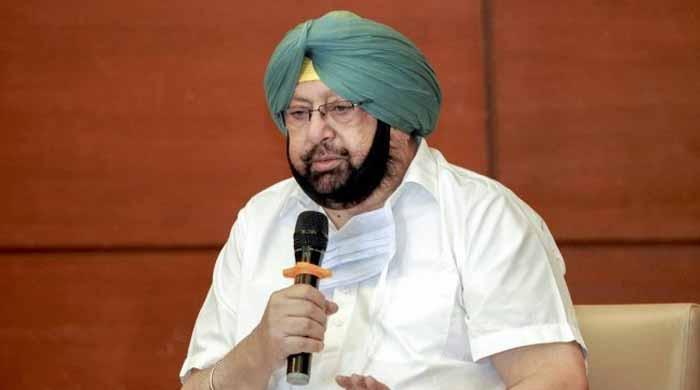 بھارتی پنجاب کے وزیراعلیٰ امریندر سنگھ نے عہدے سے استعفیٰ دیدیا