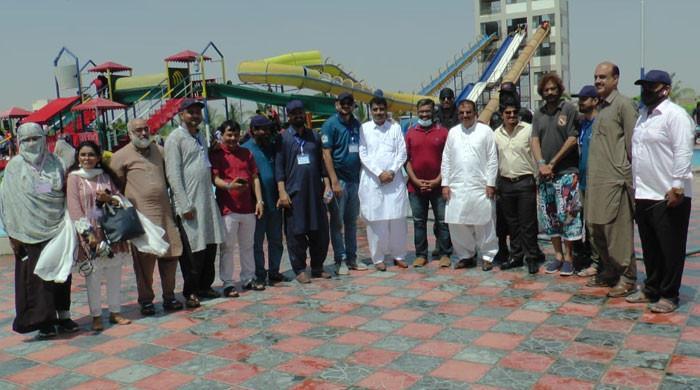 کراچی پریس کلب کی جانب سے ممبران اور ان کے اہل خانہ کیلئے پکنک کا اہتمام