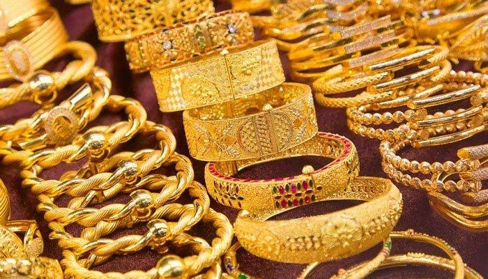 10 گرام سونے کی قیمت 214 روپےاضافے سے 97094 ہوگئی— فوٹو:فائل