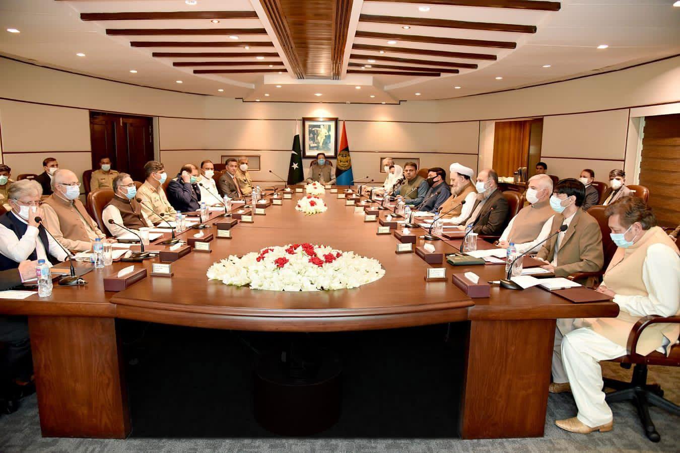 دورے میں وفاقی وزرا، بلوچستان اور خیبرپختونخوا کے وزرائے اعلیٰ بھی وزیراعظم کے ہمراہ تھے، اعلامیہ — فوٹو: وزیراعظم آفس