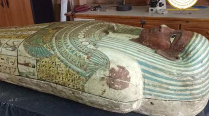 دبئی ایکسپو میں فرعون کے تابوت کی بھی نمائش