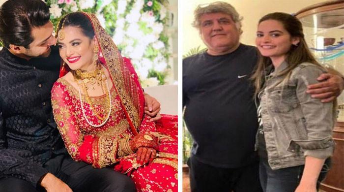 منال خان کے سسر کی بہو سے متعلق گفتگو 'لیک' ہوگئی