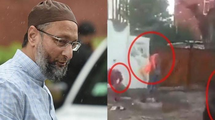 اسد الدین اویسی کے گھر پر حملے میں ملوث انتہاپسند ہندو سینا کے 5 کارکن گرفتار