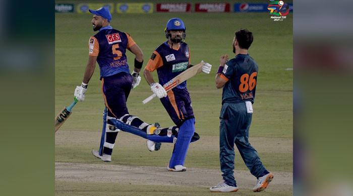 نیشنل ٹی ٹوئنٹی کپ : سینٹرل پنجاب نے بلوچستان کو 2 وکٹوں سے شکست دے دی