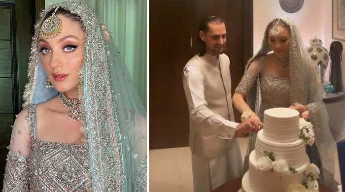 شہباز تاثیر اور نیہا راجپوت رشتہ ازدواج میں منسلک، تصاویر اور ویڈیوز آگئیں