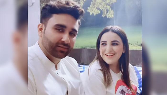 بلال شاہ نے حریم شاہ سے شادی کی تصدیق کردی —فوٹوبشکریہ انسٹاگرام
