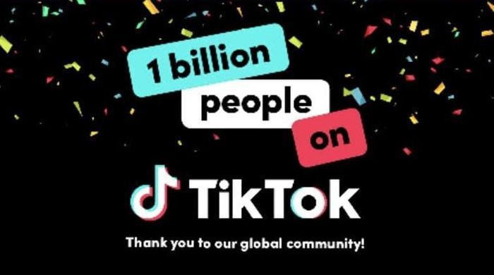 ٹک ٹاک کے فعال صارفین کی تعداد ایک ارب ہوگئی