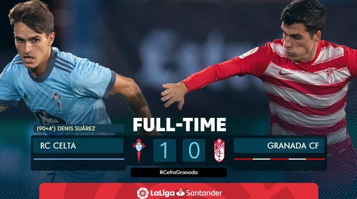 اسپینش فٹبال لیگ:سیلٹا ویگو نےگراناڈا کو ایک صفر سے شکست دے دی